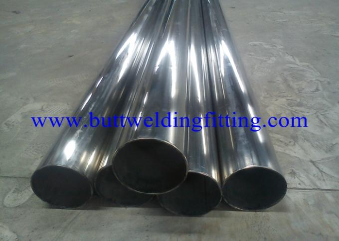 S31803 / S31500 / S32750 ETC Super Duplex Stainless Steel Pipe 2.5mm - 50mm Thickness