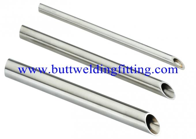 Round thin wall stainless steel welded pipe din pa and