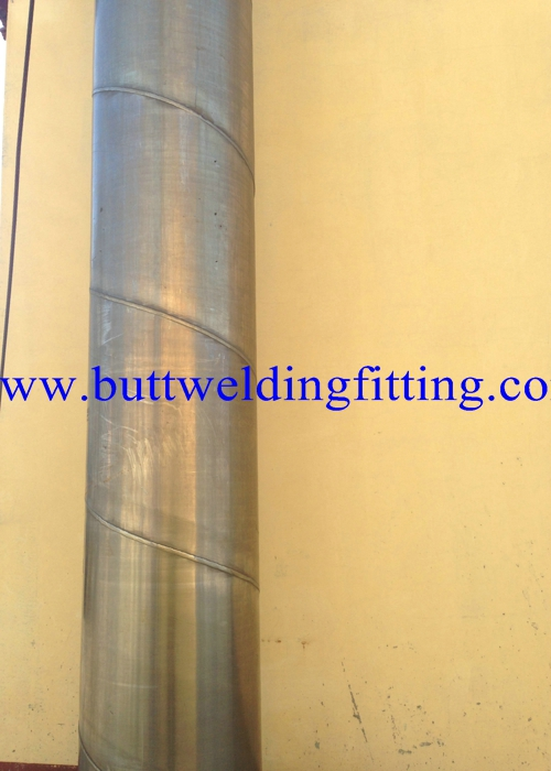 0.5mm to 48mm Thickness Stainless Steel Welded Pipes Solution Annealed & Pickled