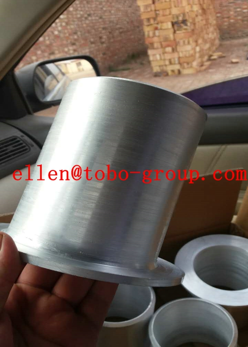 ISO9001 PED Ss Pipe Fittings , ASTM A234 Butt Welding Stub End Fittings