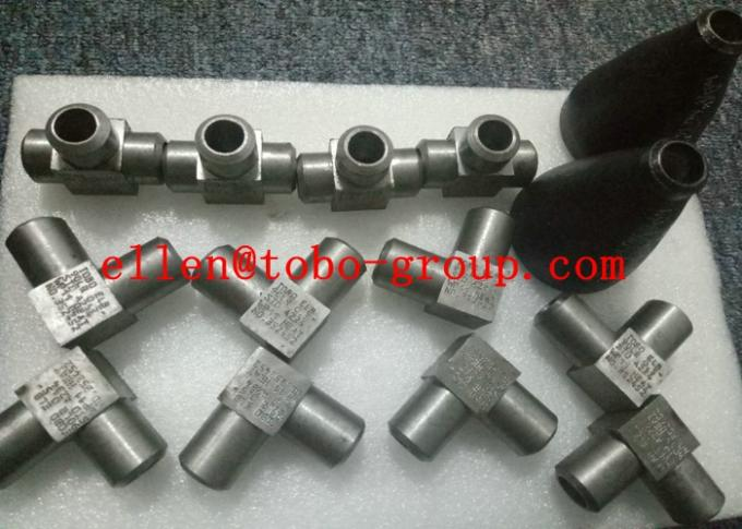 ASME B16.11 SW 45 Degree Elbow Stainelss Steel Pipe Fittings DN6 - DN100 3000LB