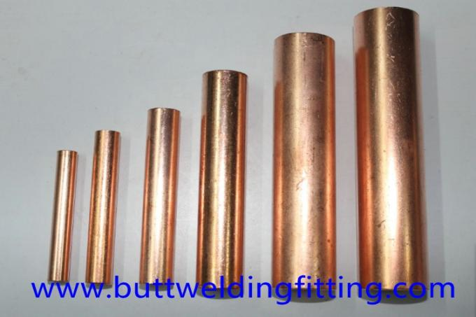 Polished Seamless Copper Nickel Pipe For Construction / Mechanical