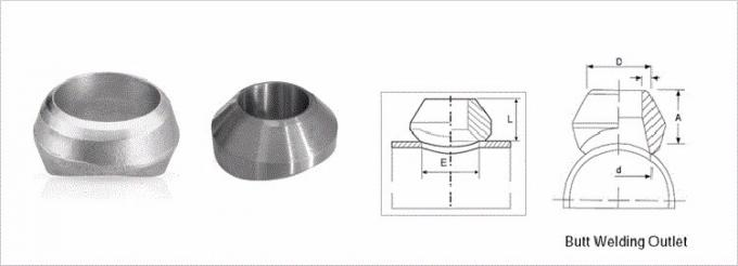 Olet socket  forged pipe fittings