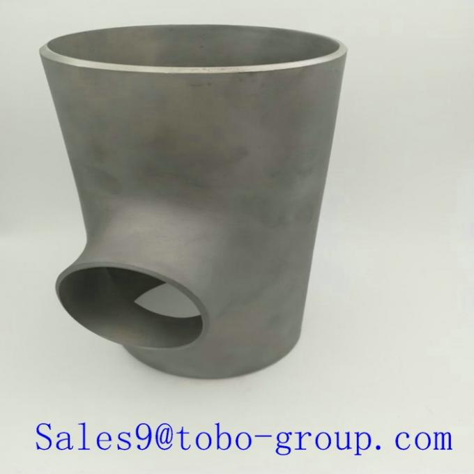TOBO Super Duplex Stainless Steel Fitting Pipe Equal Tee 2205 2507 UNS S32750 S32760