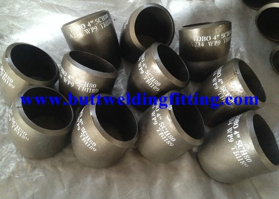 China ASTM A234 WP9 Alloy Steel Pipe Fittings Seamless Alloy Steel SGS / BV / ABS / LR / TUV / DNV / BIS / API supplier