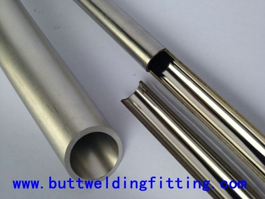China ASTM A312 Duplex SS Pipe , Thin Wall Stainless Steel Tubing 6mm-630mm Diameter supplier