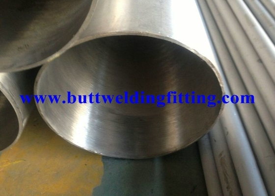 China ASTM A554 ERW 316L Spiral Welded Steel Pipe Round Shaped With Painted Surface supplier