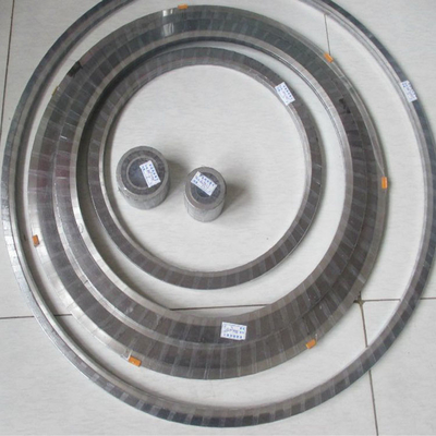 China Metal Corrugated Metal Gasket ASME B16.9 DN15 - DN1200 WP316L For Chemical supplier