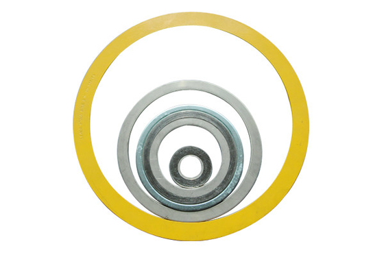China Metal Spiral Wound Corrugated Gasket 1/8'' - 36'' For Aerospace Industry supplier