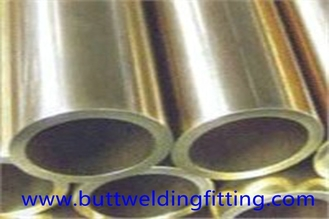 China UNS N04400 single phase Nickel alloy or copper tube / 24 inch steel pipe GB EN supplier
