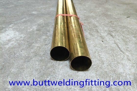 China JIS GB UNS 70/30 Seamless Copper Nickel Pipe / Water Heater Tube supplier