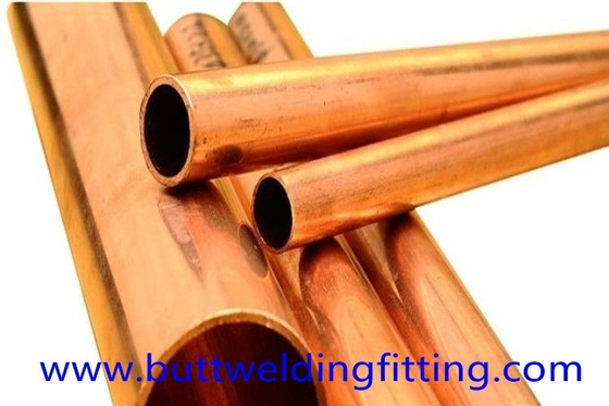 China Polished Seamless Copper Nickel Pipe For Construction / Mechanical supplier