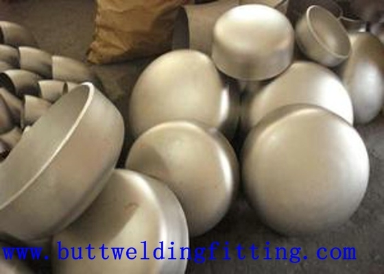 China 1 3/4'' ANSI B16.9 BW Stainless Steel Pipe Cap , Wall Thickness 2mm - 300mm supplier