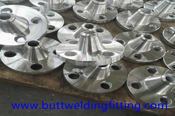 China Welding Neck Forged Steel Flanges , 3'' 316L Class300 WN RF Flange supplier