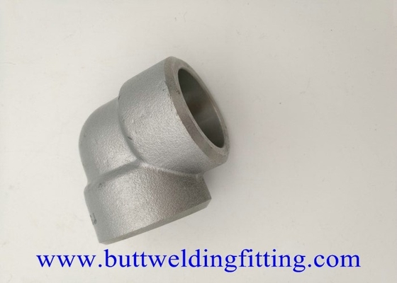 China Stainless Steel 90 Degree Socket Welding Elbow 1'' 3000# 304H supplier