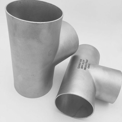 "China 68"" Butt Weld Tee , Steel Pipe Tee Sch10S ASTM A815 UNS S32750 ASME B16.9 supplier"