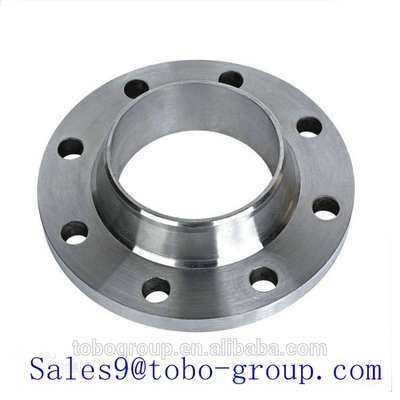 China Dn 200 150# Astm Welding Neck Forged Steel Flanges / Stainless Steel Flanged Fittings supplier