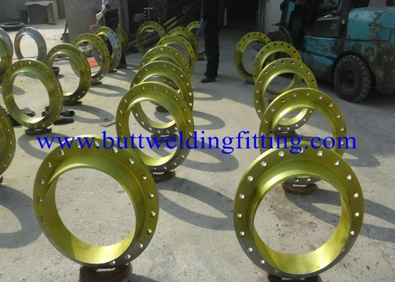 China Steel Flange Weld Neck ASTM A182 F316,316L,304,304L ,UNS N04400 , UNS N05500,CALSS150,300 supplier