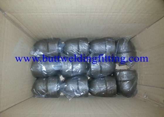 China ASME B16.11 SW 45 Degree Elbow Stainelss Steel Pipe Fittings DN6 - DN100 3000LB supplier