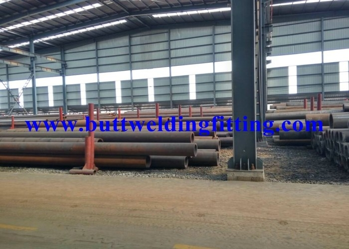 Fluid And High Pressure API Carbon Steel Pipe A335 P5 / Cr5Mo 1-100 mm Wall Thick