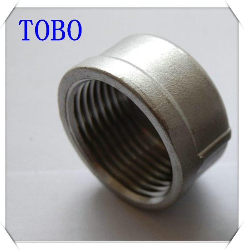 Tobo butt weld fittings caps bs npt din standards