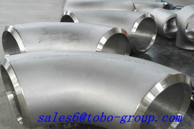 Seamless Stainless Steel Long Radius Pipe Fittings for Connect SCH40 Elbow