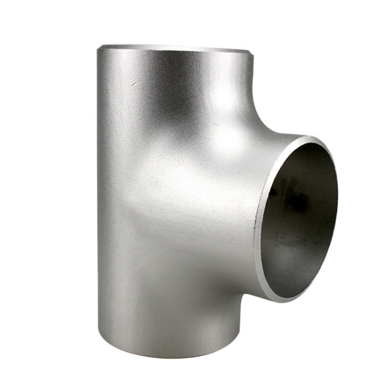 Food grade super duplex stainless steel seamless or weld pipe fitting Tee
