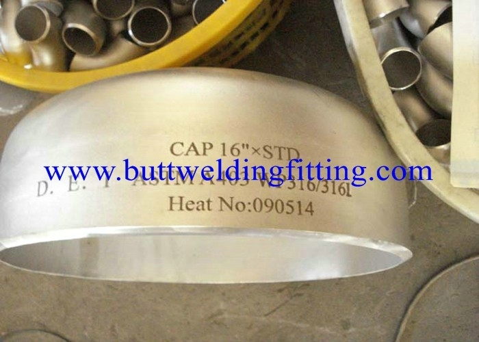 "904l / Wp347 / Wp347h Stainless Steel Pipe Cap 1"" Sch80s Asme B16.9 , Asme B16.11"