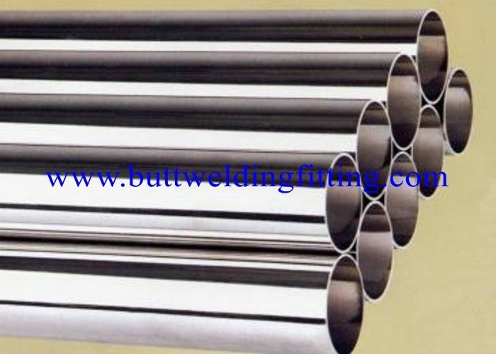 Welded / ERW Round Nickel Alloy Pipe Monel 400 / EN 2.4360 / Monel ...