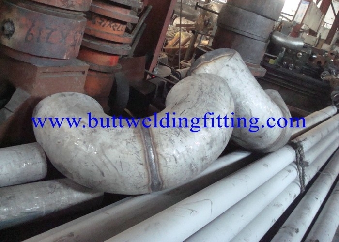 Seamless SS Elbow Butt Weld Fittings ASTM A815 UNS S31803 / S32750 / S32205