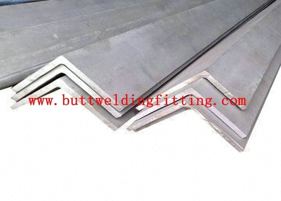 China ASTM 347 Stainless Steel Angle Bars Thickness 2.0mm -18mm Tolerance h9 h11 factory