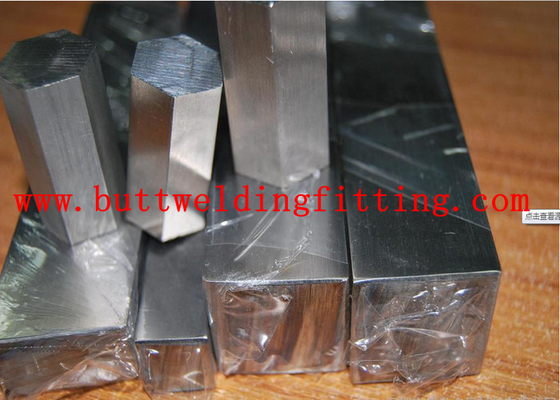 China AISI ASTM 304L Stainless Square Bar Stock Silver Ss Rod For Construction factory