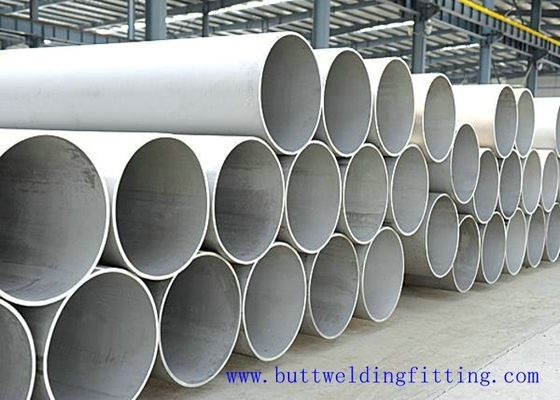A312 A270 Stainless Steel Welded Tube SS Pipe OD 1000 - 3600MM TP321 AISI321
