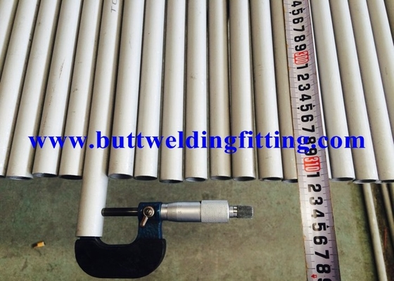 China Hot Rolled 304l Stainless Steel Tubing , AISI Seamless Stainless Steel Tubes factory