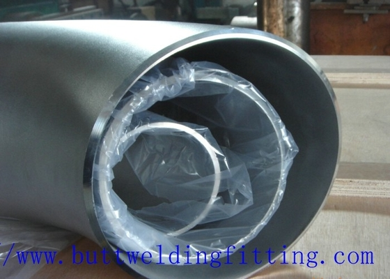 China Super Duplex Pipe Fitting 45 Degree Stainless Steel Elbow Duplex 2205 / S31803, 904L factory