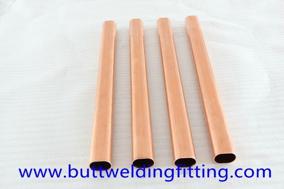 0.8 - 1.5mm Wall Thickness Copper Brushed Nickel Tubing UNS 90/10 for Distiller