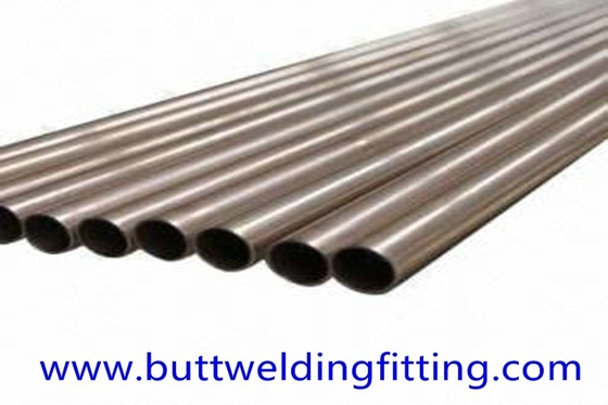 CuNi (66/30/2/2)  Seamless Copper Nickel Tube L:15662MM SIZE 24.4 X 1.2 MM C71640