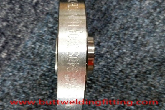 "ASME UNS S32760 8"" Forged Steel Socket Weld Flange For Connection"