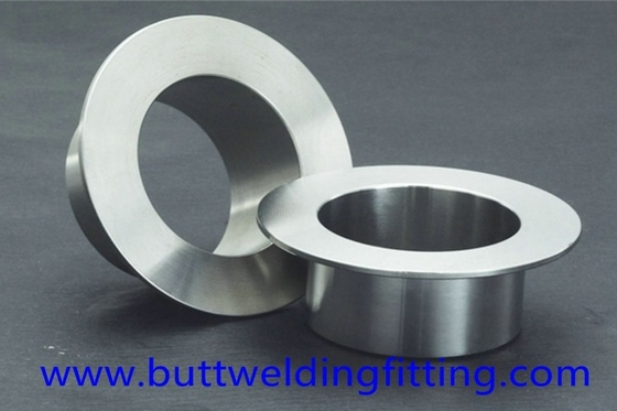 Round Butt Weld Fittings 3'' SCH40 Seamless Stainless Steel Stub Ends