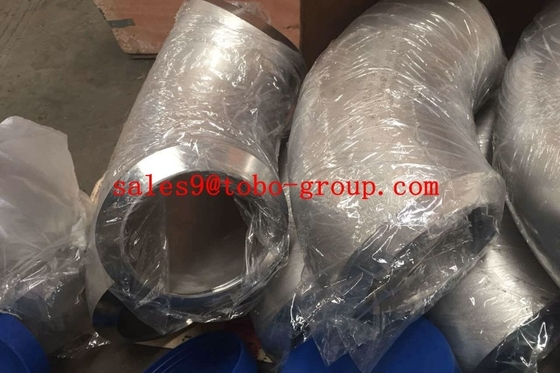 "China TOBO UNS S32760 1/2"" 90 Degree Elbow For Chemical ASTM A182 DN15 - DN1200 pipe fitting factory"