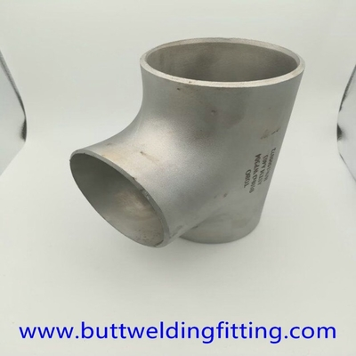 Stainless Steel Butt Weld Reducer Tee Tube 304 Sch40 1 Inch Pipe Fitting Tools
