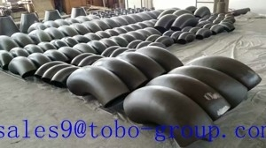 "China TOBO GROUP Super Duplex Stainless Steel 3"" LR Seamless 45 Degree Elbow  Pipe ASTM A182 UNS S32760 factory"