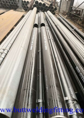 Cold Drawing Stainless Steel Seamless Pipe Round Shaped 8 Meters Long