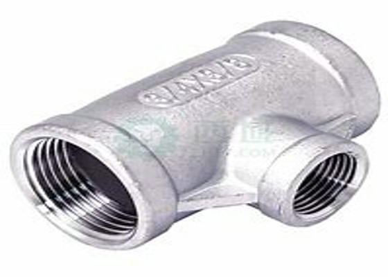 Corrosion Resistance Forged Pipe Fittings Stainless Steel Tee 316ti 317l 347h Butt Weld