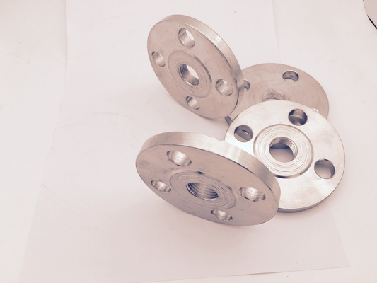 China Round Durable Forged Flanges Alloy 600 3/4''-72'' Class300  ASME B 16.9 Standard Silver Color factory