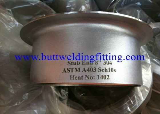 Threaded Flanges Tube SS Stub End ASME B36.10M 1/8 Inch - 48 Inch