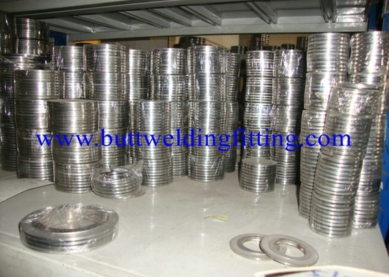 China 316 Stainless Steel Spiral Wound Gasket / Corrugated Metal Gasket factory