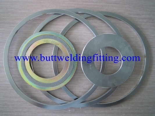 China Corrugated Flat Metal SS Spiral Wound Gasket Super Dulpex 32760 F55 factory