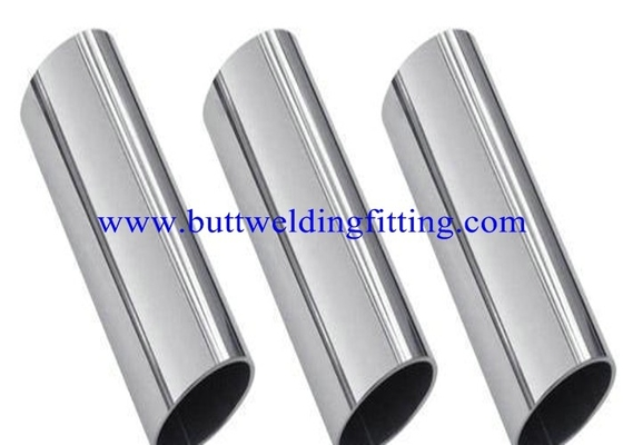 China 6inch sch60 Round Alloy Stainless Steel Welded Pipe TP304N S30451 TP304LN S30453 factory