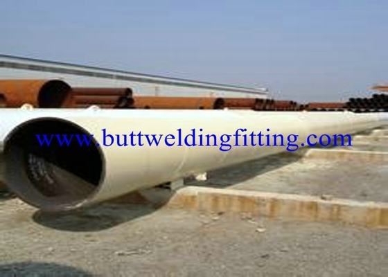 ASTM DIN JIS Welded API Carbon Steel Pipe with Varnish Paint Surface
